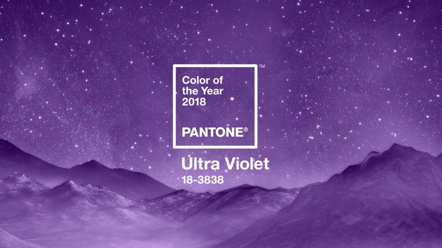 Cor do ano ultra violet Pantone