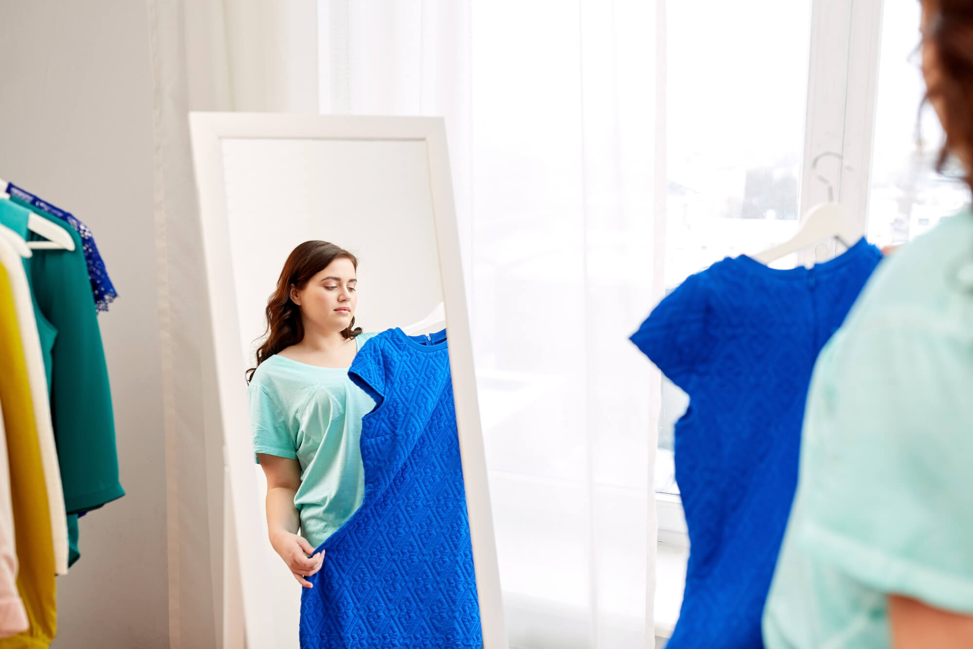 vestido plus size by Sophi Moda Evangélica