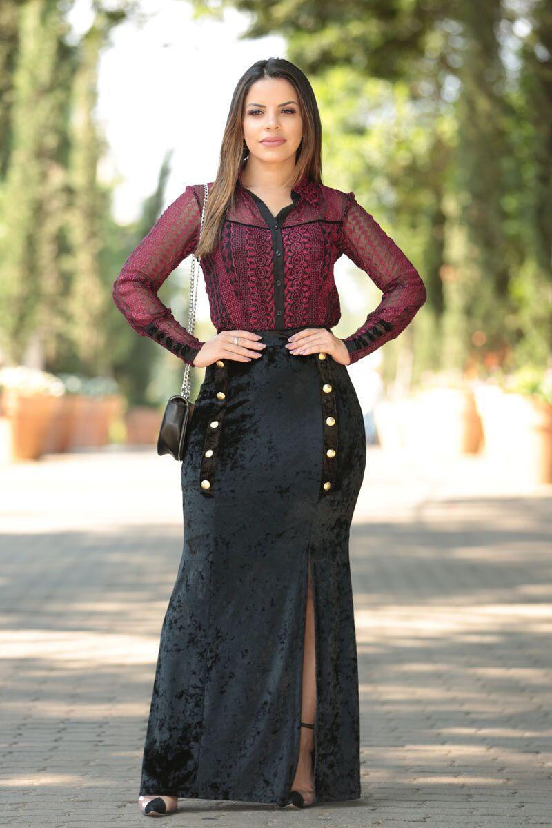 Vestido de renda by sophi
