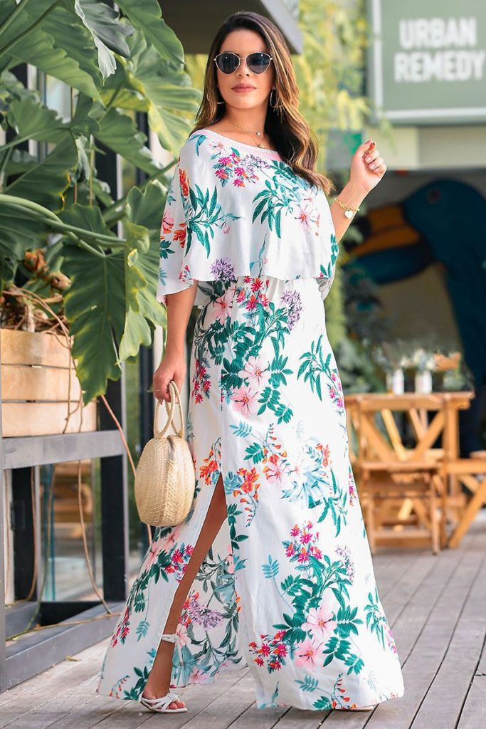 Vestido longo moda evangelica by sophi