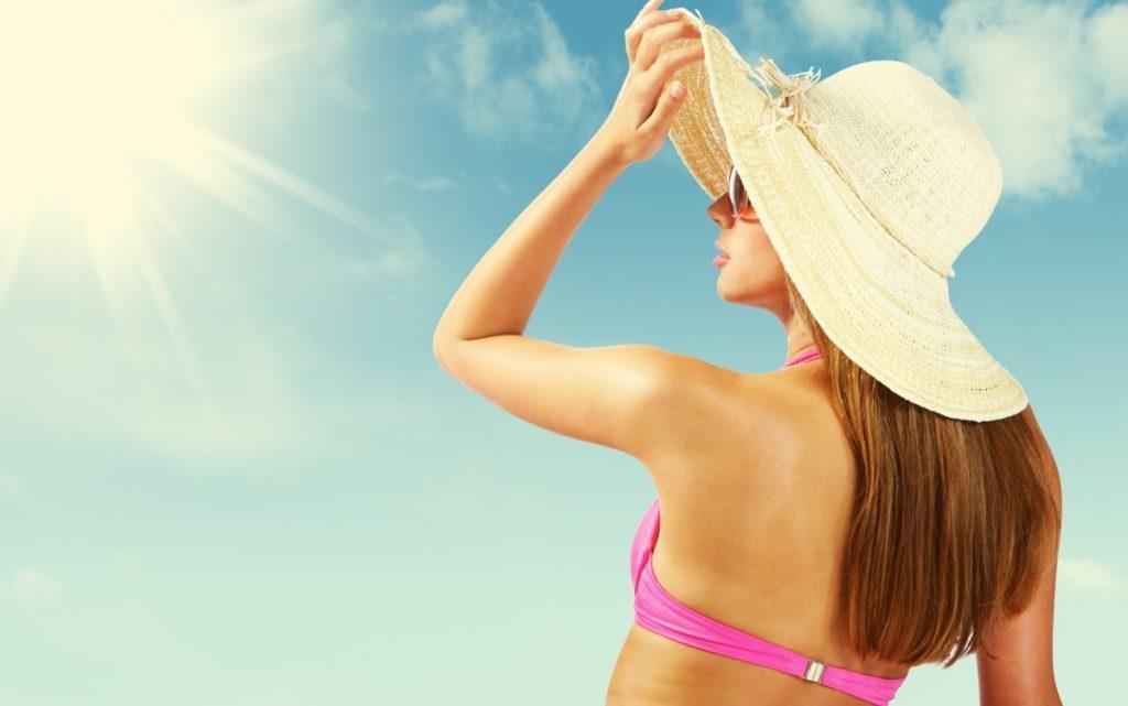 dicas de cuidados com cabelos no verão