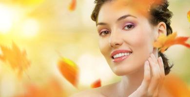 Cuidados com a pele com chegada do Outono