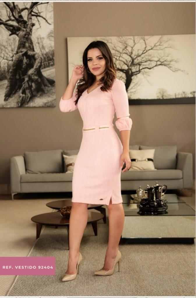 Vestido médio by Sophi Moda evangelica
