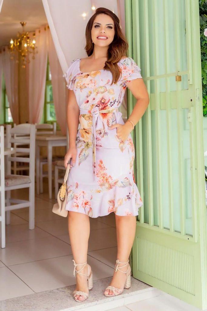 Vestido moda evangelica by sophi