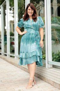 Vestido moda evangelica plus size by sophi